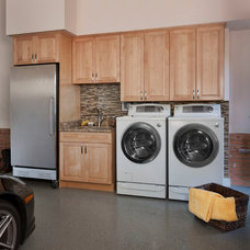 Traditional Laundry Room by KSI Kitchen & Bath