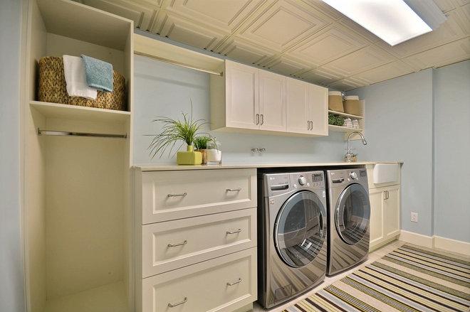 Traditional Laundry Room by Melyssa Robert Designer