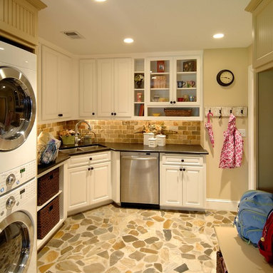 Corner Laundry Tub : Corner Sink Laundry Room Design Ideas, Pictures, Remodel and Decor