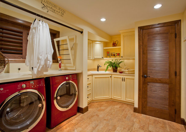 American Traditional Utility Room by L.EvansDesignGroup,inc