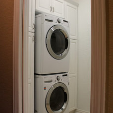 Traditional Laundry Room by S Squared Design, LLC