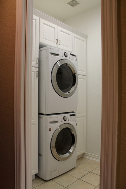 Traditional Laundry Room by S Squared Design