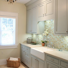 Beach Style Laundry Room by Villa Decor
