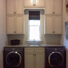 Traditional Laundry Room by Jennifer Thompson