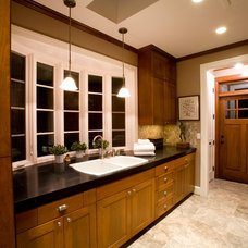 Traditional Laundry Room by Designer's Edge Kitchen & Bath
