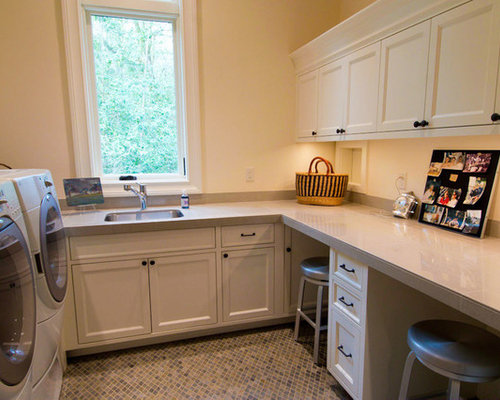 Laundry Room Counter Height | Houzz
