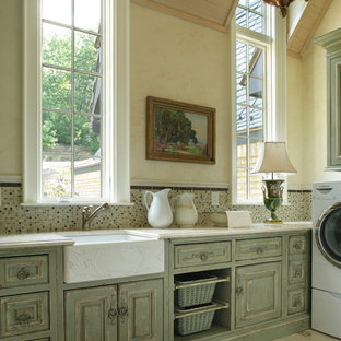 This is an example of a traditional utility room in Other.