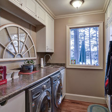 Traditional Laundry Room by Weidmann Remodeling