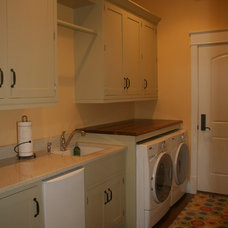 traditional laundry room by Jennifer Butler Interior Design