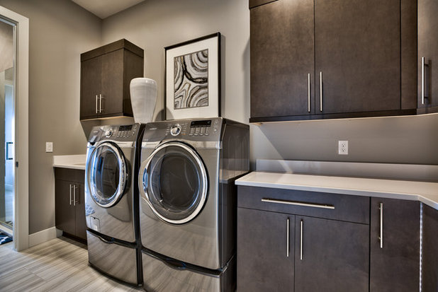 Contemporary Laundry Room by Inspired Interiors