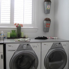 Traditional Laundry Room by Lerman Construction Management Services