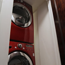 Traditional Laundry Room by Ruby Construction LLC