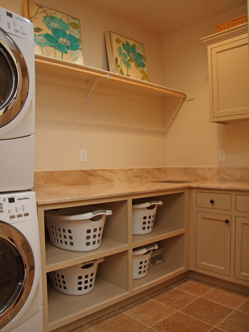 Wall Storage for Laundry Supplies