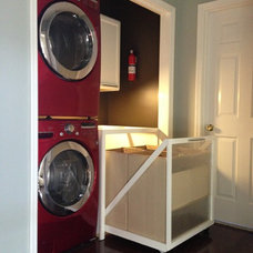 Contemporary Laundry Room by Snell Construction