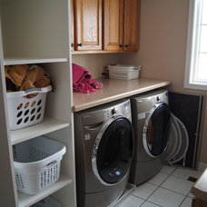 Traditional Laundry Room by A Better Home