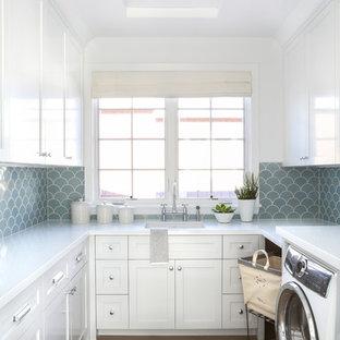 Idéer för maritima tvättstugor