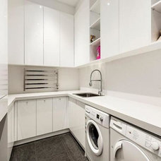 Contemporary Laundry Room by The Kitchen Designer