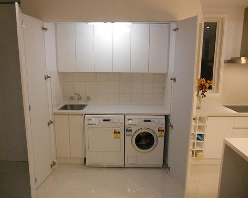 Olbia waschmaschinenschrank Überbauschrank weiss