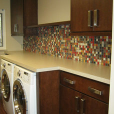 Contemporary Laundry Room by J.S. Brown & Co.