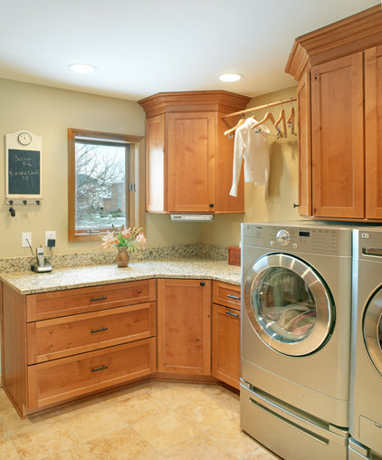 Traditional Laundry Room by J.S. Brown & Co.