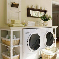 Traditional Laundry Room by San Francisco Organized Interiors