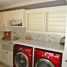 Contemporary Laundry Room by J&J Contractors I LLC
