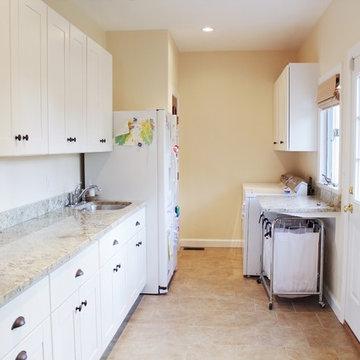 Laundry & Mud Room Remodel in Coastal Virginia