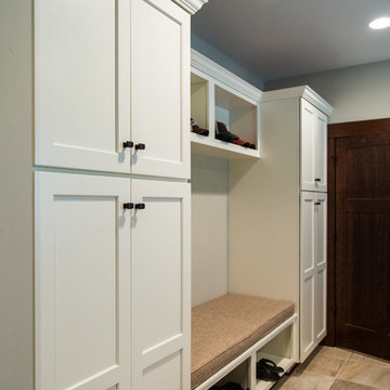 Laundry & Mudroom combine for the Ultimate in Utility