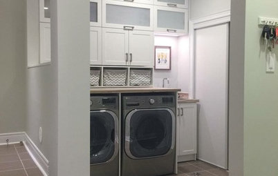 Room of the Day: Reconfiguring an Entry and Laundry Room