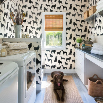 Laundry and Mudroom with the Four Legged Friends in Mind
