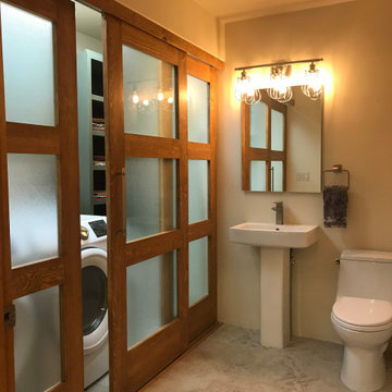 Laundry and Powder Room Remodel-Ventoso