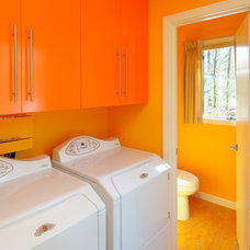 Modern Laundry Room by Taylor Bryan Company