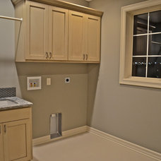 Traditional Laundry Room by Anthony Company Builders LLC