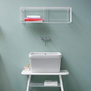 Idéer för eklektiska tvättstugor