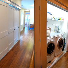 Contemporary Laundry Room by Kipnis Architecture + Planning