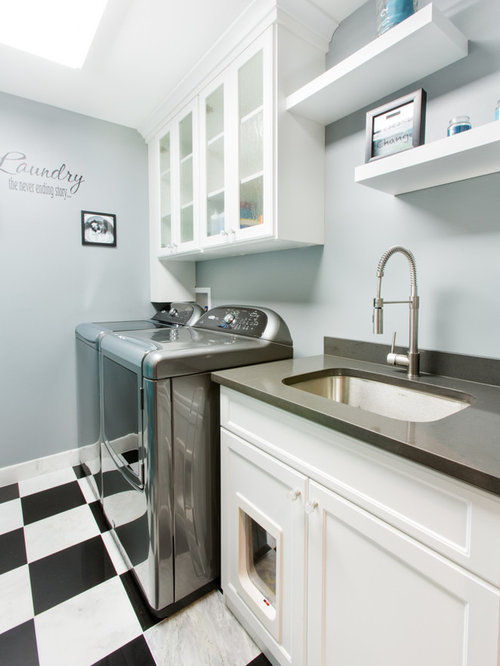 Modern Laundry Room Design Ideas, Remodels & Photos with ...