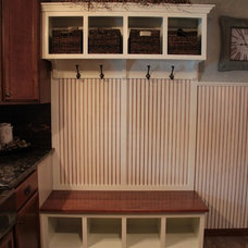 Traditional Laundry Room by Beyond the Front Door, LLC