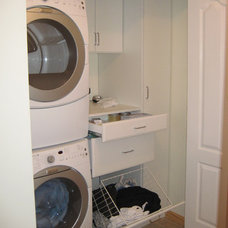 Contemporary Laundry Room by Contour A Closet