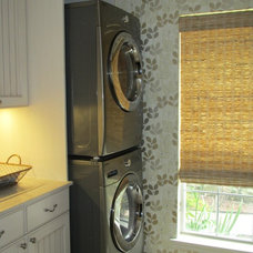 Eclectic Laundry Room by Delightful Designs by Ashley