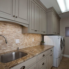 Traditional Laundry Room by Design a la Carte Inc