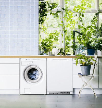 Modern Laundry Room by ASKO