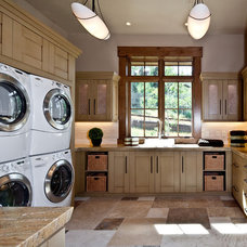 Traditional Laundry Room by Jaffa Group Design Build