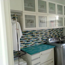 Eclectic Laundry Room by Kitchen Distributors, Inc-Arkansas
