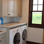 Traditional Laundry Room Contemporary Laundry Room