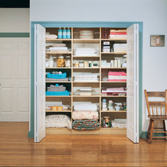 traditional laundry room by California Closets