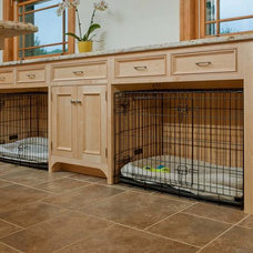 Traditional Laundry Room by Crown Point Cabinetry