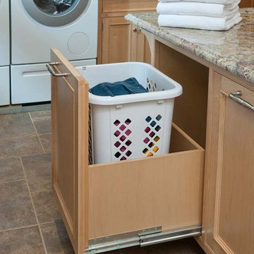 Laundry/Mud Room For A Busy Family