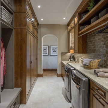 Laundry, Mudroom and Butler's Pantry in Littleton, CO