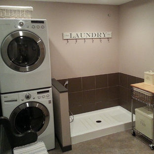 Laundry, Mudroom and Doggie shower