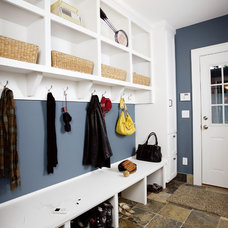 traditional laundry room by Sicora Design/Build
